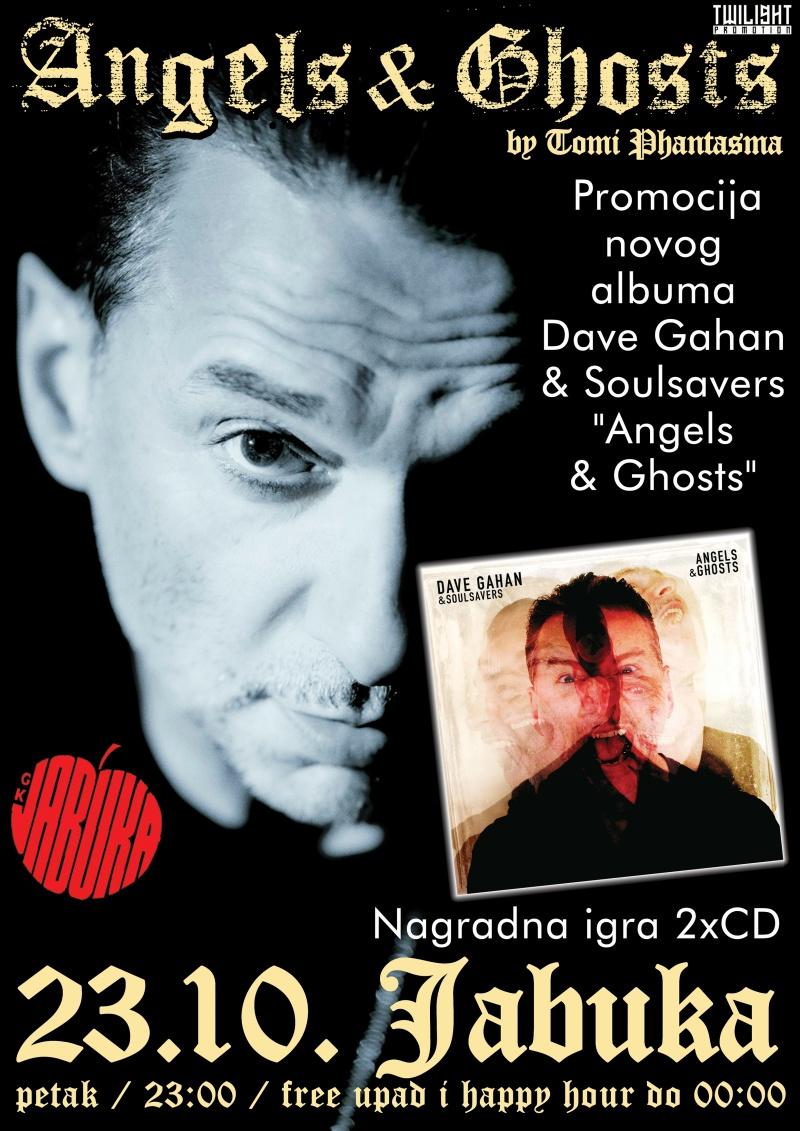 """Promocija novog albuma: Dave Gahan & Soulsavers """"Angels & Ghosts"""" 23.10. u zagrebačkom klubu Jabuka!"""