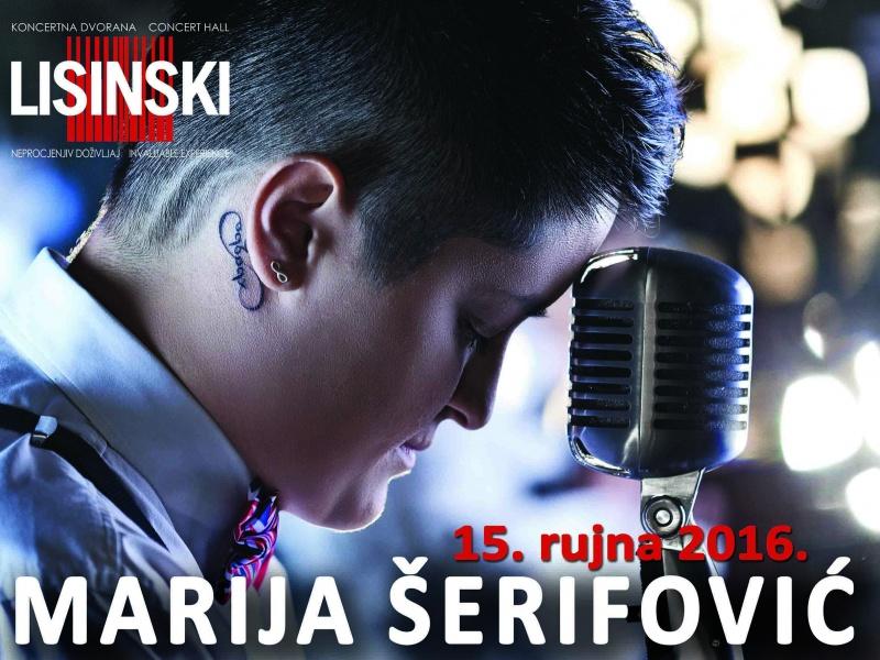 JACQUES HOUDEK i NINA BADRIĆ gosti na koncertu MARIJE ŠERIFOVIĆ u Lisinskom!