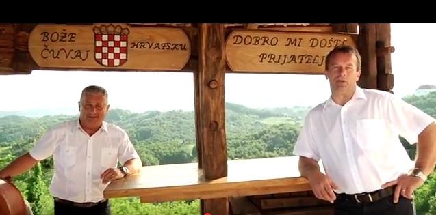 "Najpoznatiju zagorsku domaću popevku ""Veselo, veselo Zagorci"" pjevaju Kvartet Gubec i Kavaliri"