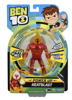 Ben 10 - Heatblast Power Up delux