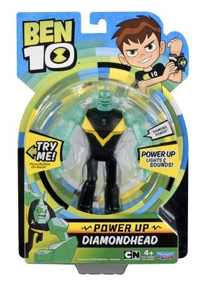 Ben 10 - Diamonhead Power Up delux
