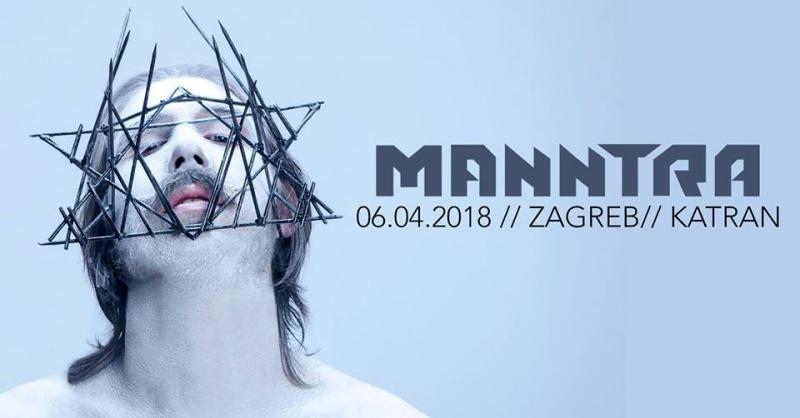 Koncertna promocija novog albuma Manntre u Katranu 6.4.