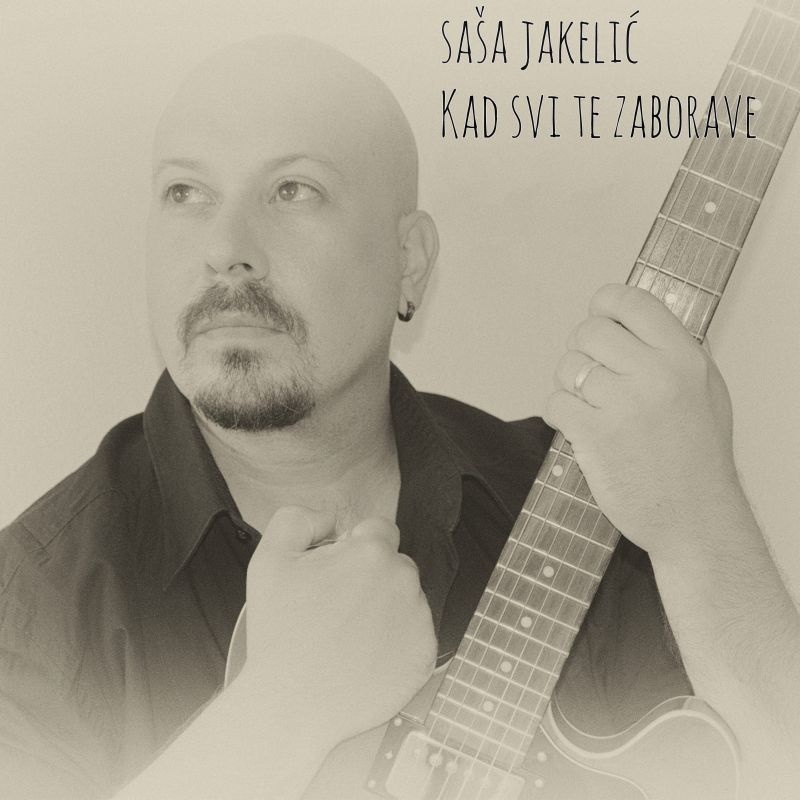 """Splitski pjevač kristalnog glasa, Saša Jakelić ima novu pjesmu """"Kad svi te zaborave"""""""