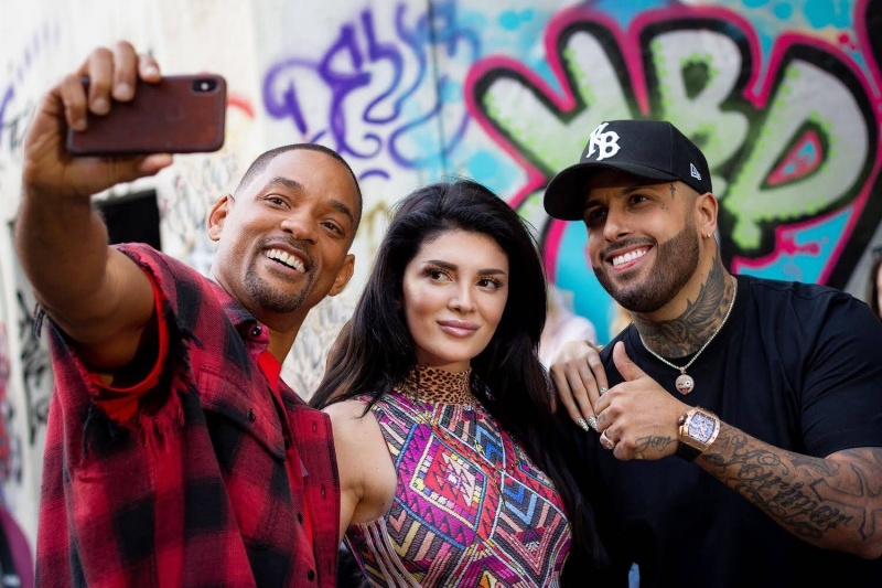 "Nicky Jam feat. Will Smith & Era Istrefi ""Live It Up"""