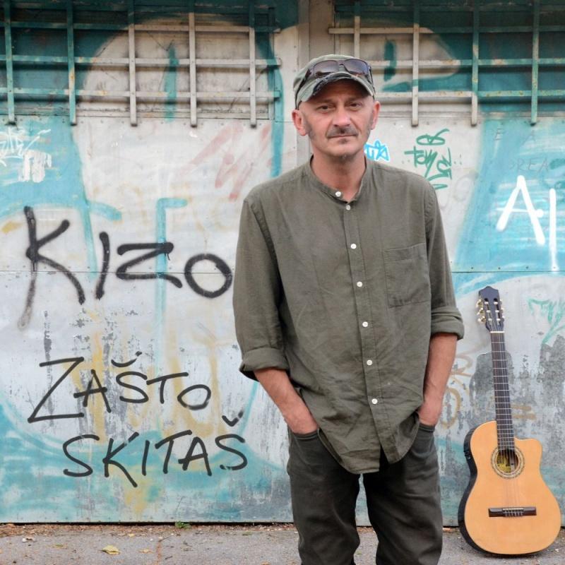 """Nekadašnji gitarist Rundeka i Zabranjenog pušenja – KIZO ima odličan blues singl """"Zašto skitaš""""!"""