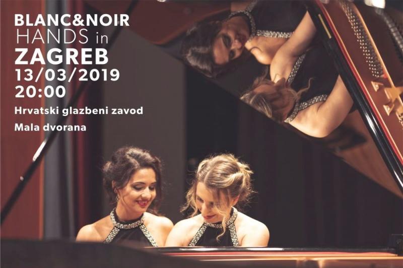 "Koncert klasične glazbe: Turski duo ""Blanc & Noir"" u Zagrebu!"