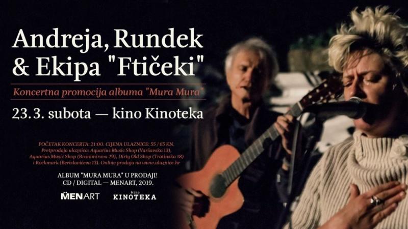 """Rundek & Ekipa """"Ftičeki"""" najavili koncertnu promociju albuma """"Mura Mura""""!"""