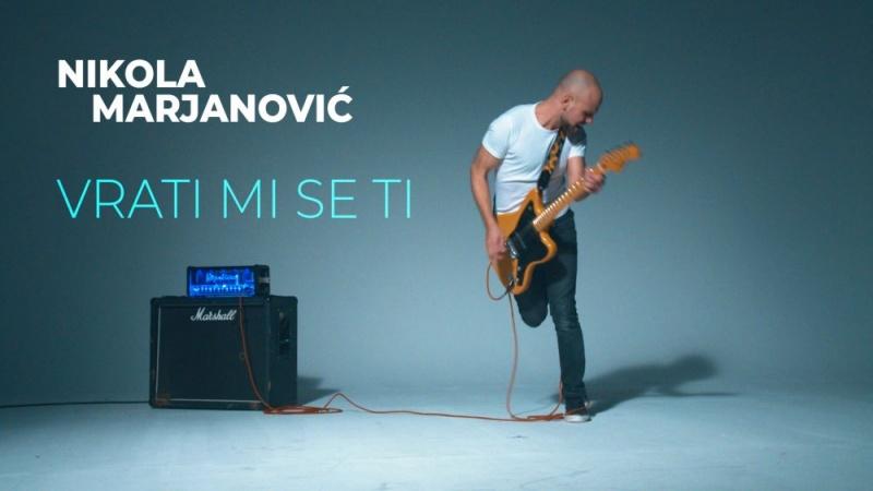 """Sjećanje na emocionalni brodolom Nikola Marjanović pretočio u sliku - pogledajte spot za pjesmu """"Vrati mi se ti"""""""