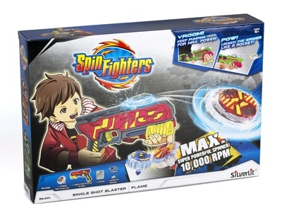 Spin Fighters - Pištolj FLAME Fighter