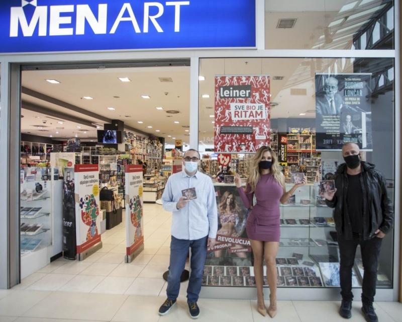 """Lidija Bačić Lille posjetila Menart Multimedijalnu knjižaru i predstavila aktualni studijski album """"Revolucija""""!"""