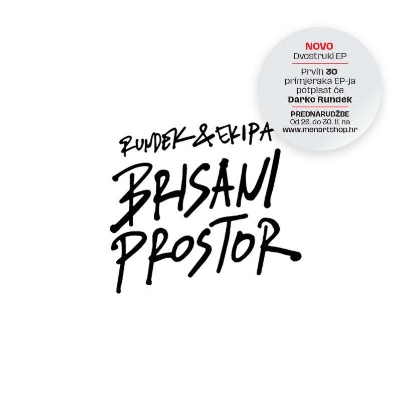 "Krenule prednarudžbe novog albuma Rundeka & Ekipe – ""BRISANI PROSTOR""!"