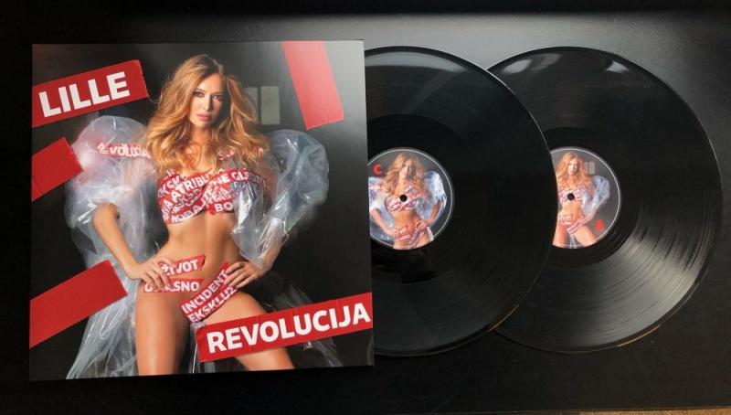 """U prodaji je dvostruki LP """"Revolucija"""", Lidije Bačić Lille!"""