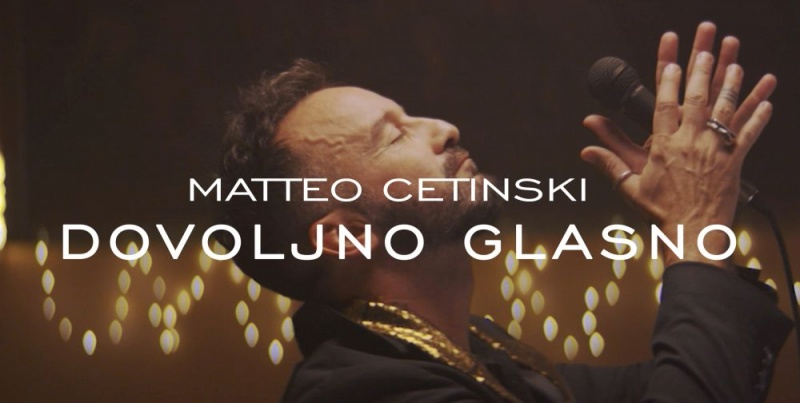 Matteo Cetinski je dovoljno glasan i u novoj pjesmi