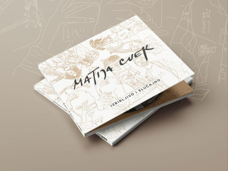 """Ispunio mu se san! Matija Cvek u rukama drži album prvijenac """"Izbirljivo i slučajno"""""""