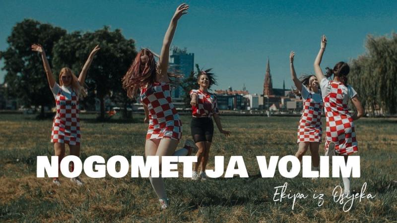 """Ekipa iz Osijeka snimila je navijačku pjesmu """"Nogomet ja volim"""""""