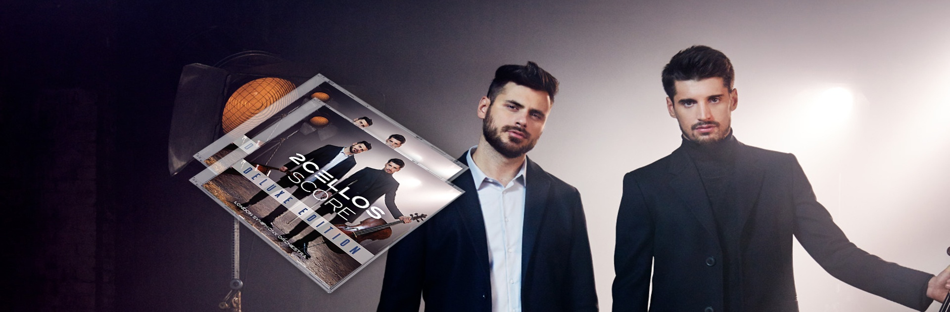 "2CELLOS ""Score"" Deluxe Edition"